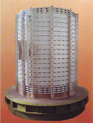 Coil Spacers For Induction Furnaces